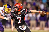 Dec 2nd 2016 Levelland Lobos vs. Abilene Wylie in a Regional Playoff Game in San Angelo - Levellands QB Nick Gerber Breaks Texas State Record in Passing with 5986 total yards for the year